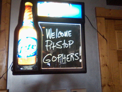 Welcome to Pitstop Pub